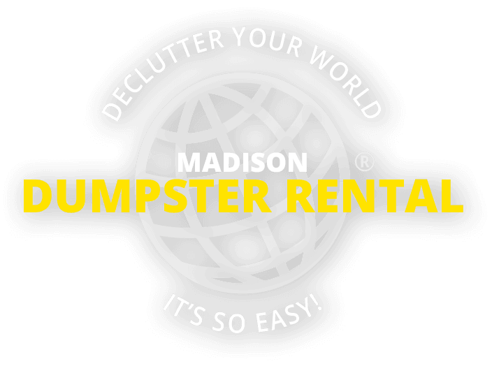 Declutter your world - Madison Dumpster Rental - It's So Easy